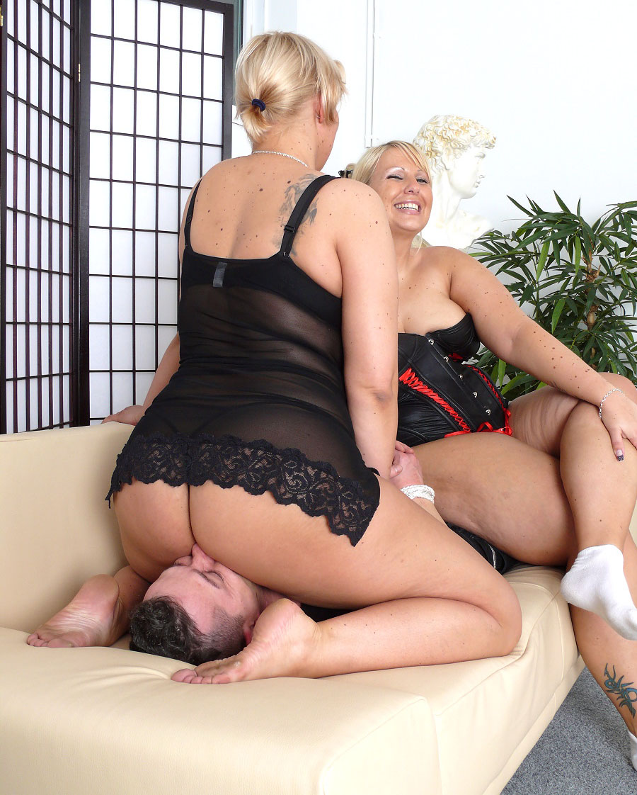 Two girls smother henry 9