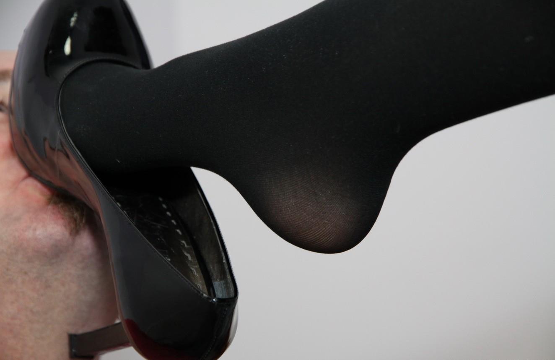 Pantyhose Feet Worship-4870