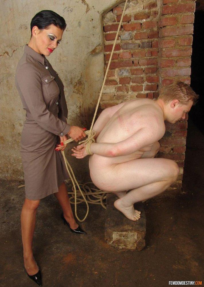 Nude nazi women uniform something is