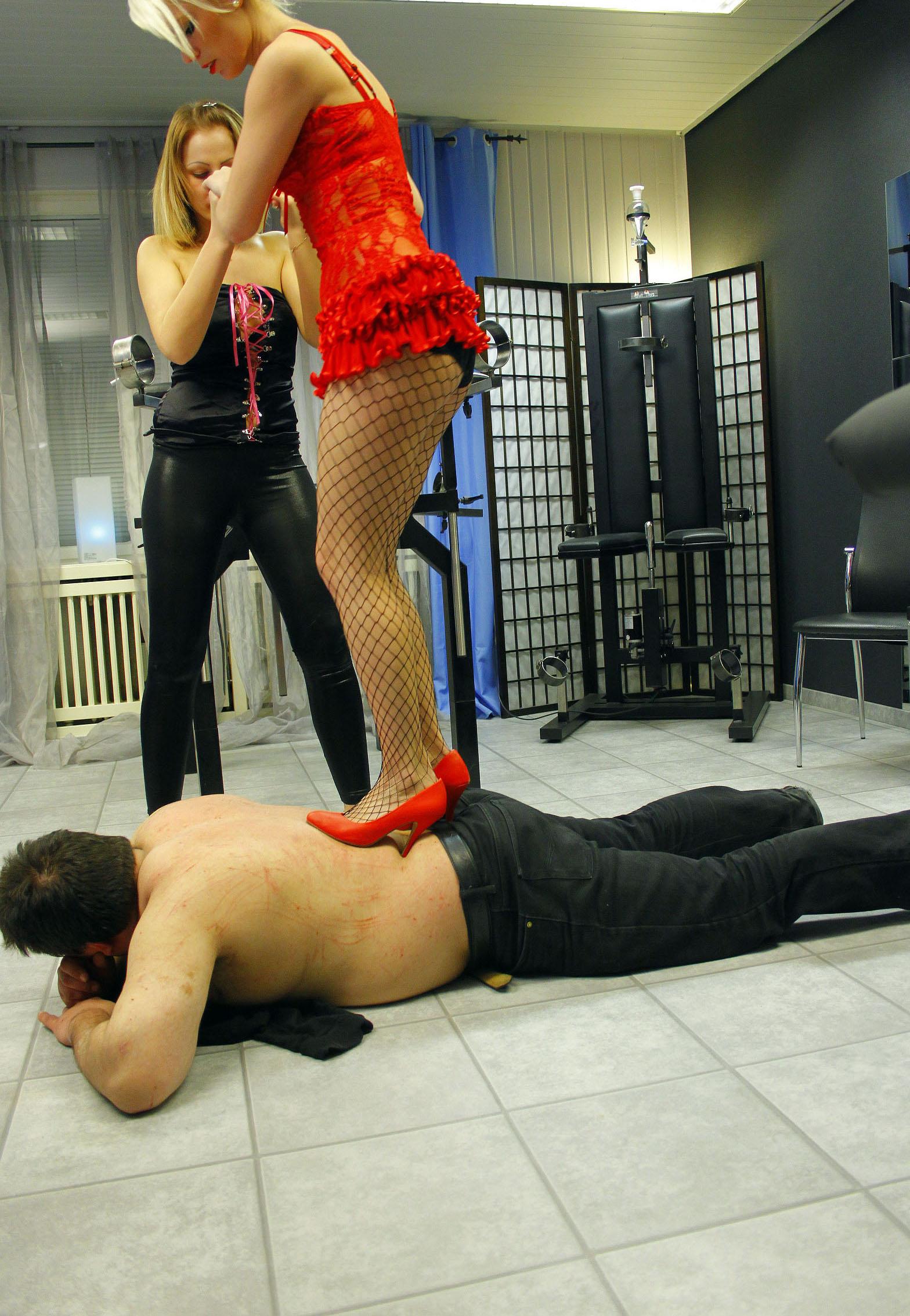 Cruel dom make her slave pay - 1 part 5