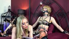 Goddess ignoring slave