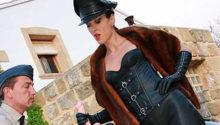 Mistress Liza in Leather