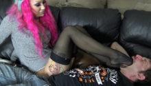 stockings worship