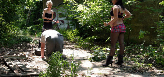 Studenten Haengetitten Outdoor Orgasmus