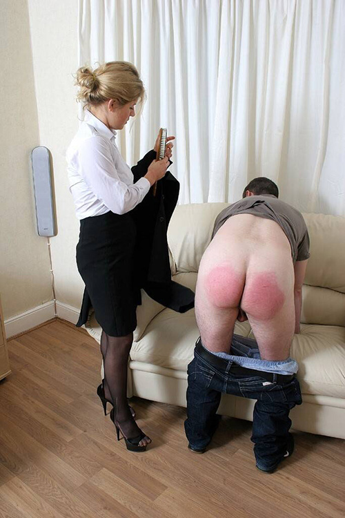 Mature femdom spanking young men, free sex with granny