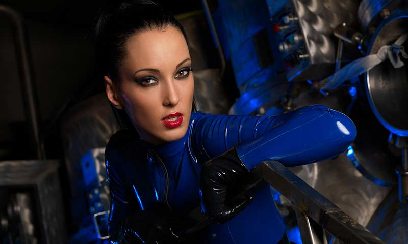 Hot rubber catsuit