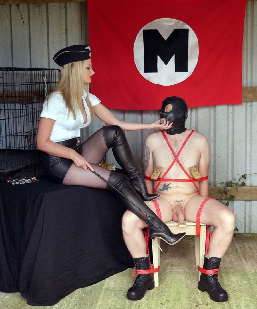 nazi femdom mistress