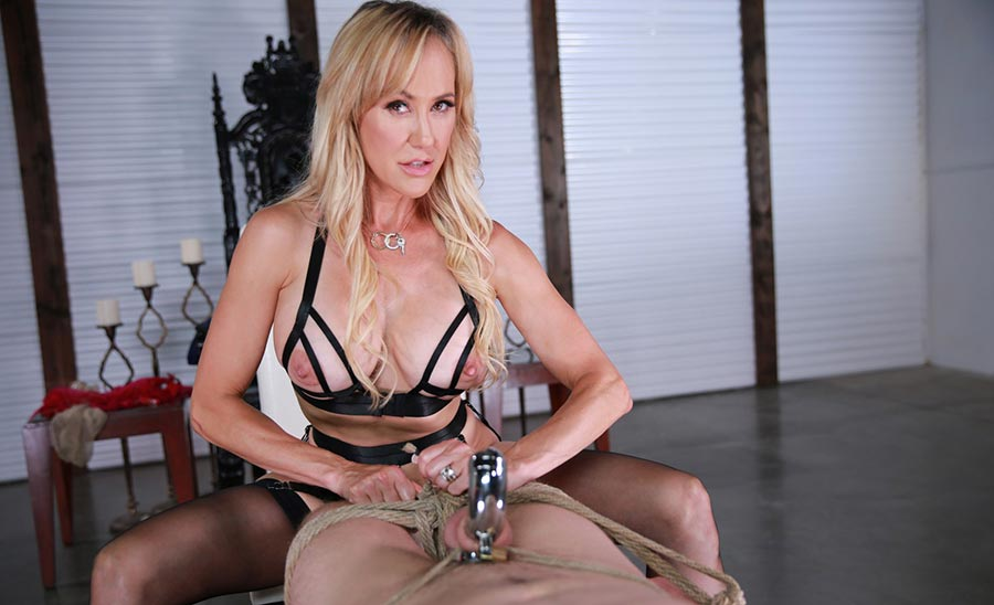 femdom slave locked in chastity