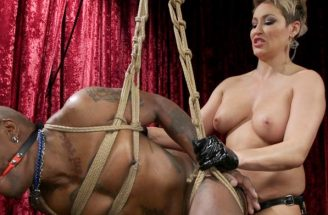 black slave pegging