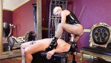 blonde strapon goddess