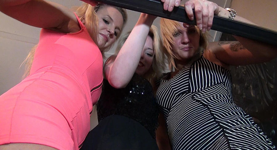trampling girls