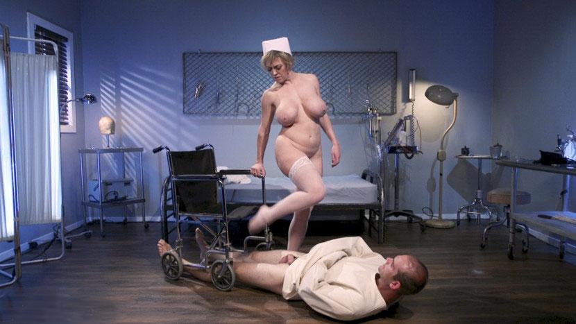Busty femdom Mistress