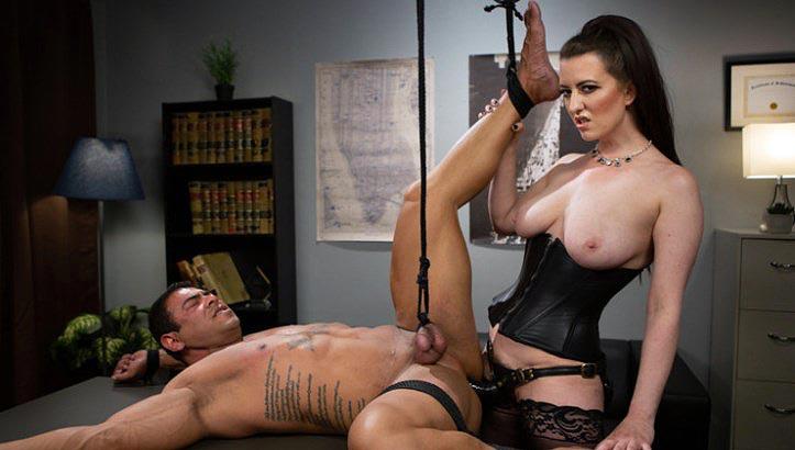 strapon female domination punishment